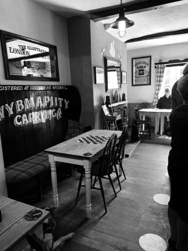 Bar games at The Swan, Fradley Junction